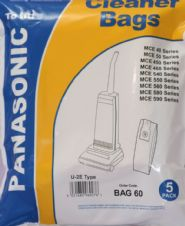 Dust Bags for Panasonic Upright Vacuum Cleaners U2E Hoover Bags